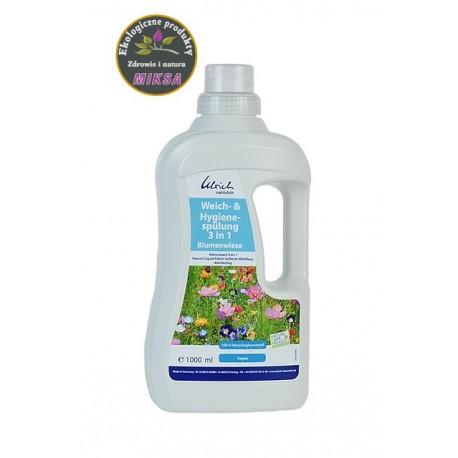 Płyn do płukania 3w1 o zapachu łąki kwiatowej